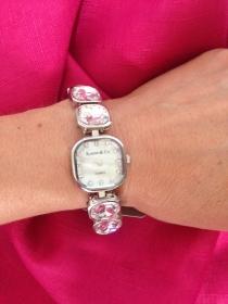 Silvertone Crystal Bracelet Watch (5004237)